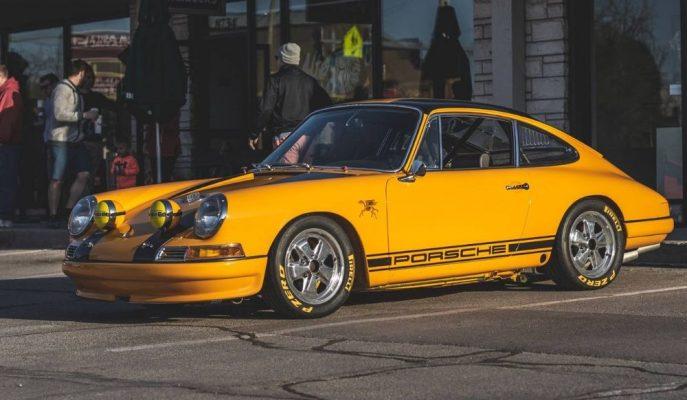 """Satılık Alman Yaban Arısı: """"Porsche 911 S 2.7"""""""