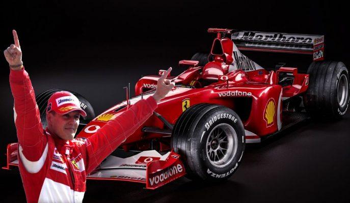 Michael Schumacher'i 2002'de F1 Şampiyonu Yapan F2002 Aracı Satılıyor!