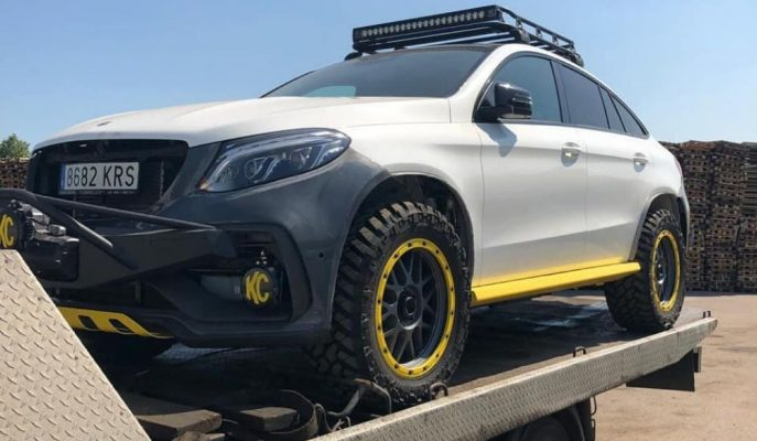 TopCar'ın Mercedes GLE Coupe Inferno 4×4*2'si