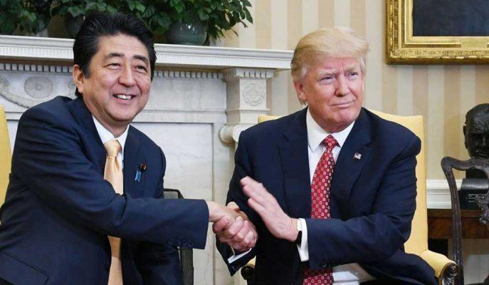 Trump, Japonya Başbakanı Abe ile G-20'de Ticaret Konuşacağını Söyledi