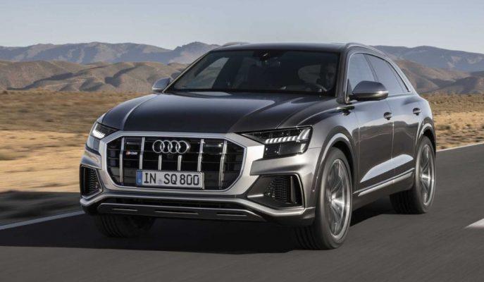 """Audi Q8'in İçerisinden Çıkan Son Canavar """"SQ8 SUV"""""""