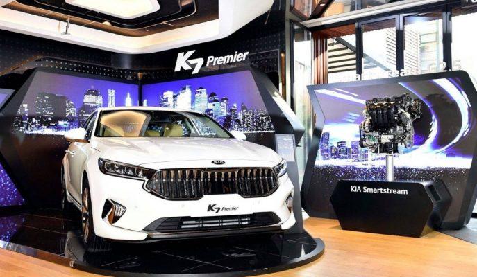"""Makyajlı """"2020 Kia K7 Premier"""" Resmi Olarak Tanıtıldı"""