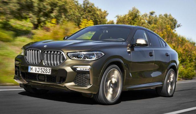 2020 Yeni BMW X6 SUV 530 Beygirlik Motoruyla Gerçekten Çok Hızlı!