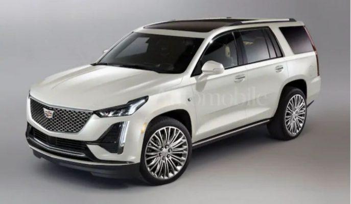 Cadillac Escalade'ye Gelen En İyi 2021 Tasarım Yorumu!