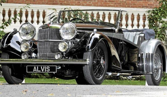 Alvis Yeniden Dirilerek 1900'lü Yıllardan Otomobiller Getirecek!