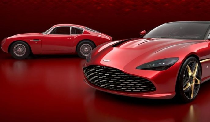 Aston Martin DBS GT Zagato'nun Final Tasarımını Gösterdi!