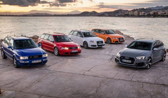 """Audi """"RS""""lerin 25. Yılını Kutluyor!"""