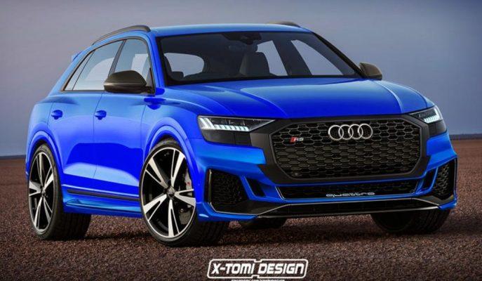 Audi, Mercedes-AMG ve BMW M'in Rakip Görmediği SUV'larına RS Desteğini Getiriyor!