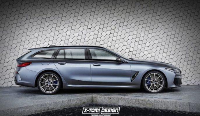 BMW 8 Serisi'nin Güçlü Bir Touring'i Olsaydı?