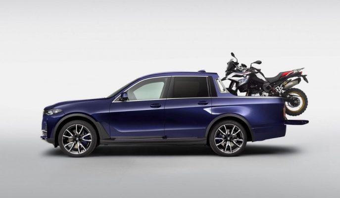 Göz Yanılması Değil! BMW X7 Pick-up Karşınızda!