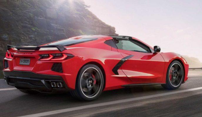 2020 Yeni Chevrolet C8 Corvette Orta Motorlu Şekliyle Karşınızda!