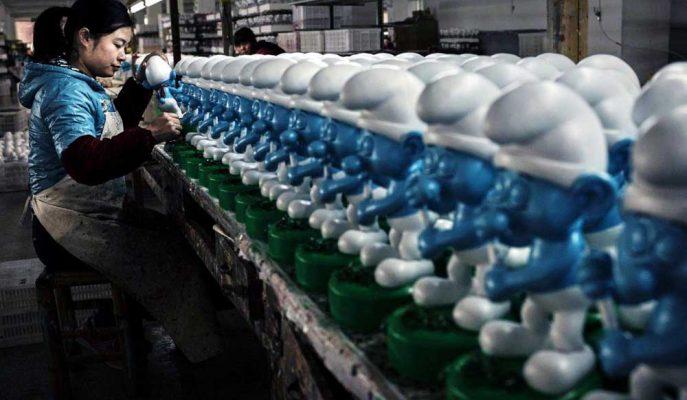 Çin'in Fabrika Aktivitesi Temmuz Ayında Yeniden Daraldı