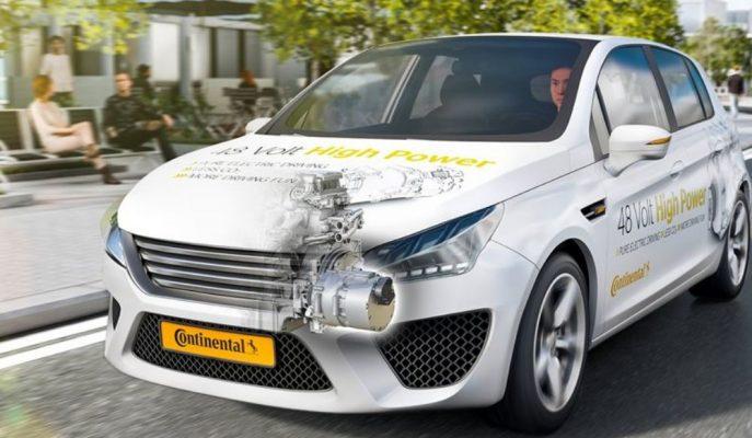Continental'in Yeni Hafif Hibrit Motoru %20 Yakıt Tasarrufunu Garantiliyor!