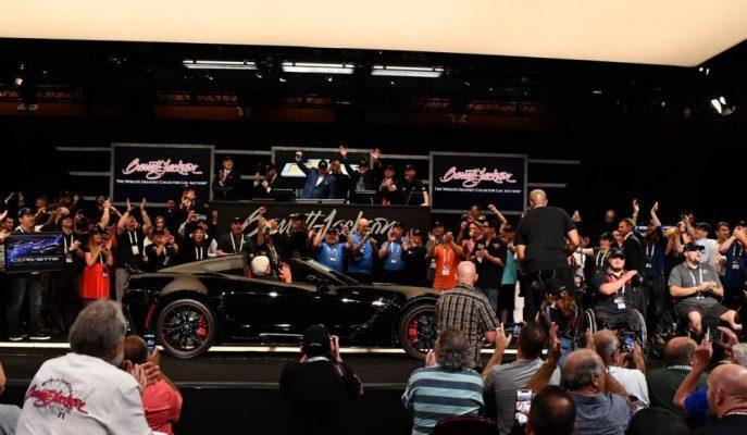 Dünyadaki En Son Corvette C7'nin Açık Artırma Fiyatına İnanması Zor!