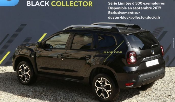Dacia, Sınırlı Üretim Duster Black Collector Limited Edition'ı Tanıttı!