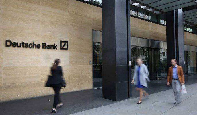 Deutsche Bank'ın Londra Bürosunda Çalışanlar Ayrılmaya Başladılar