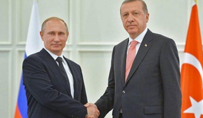 Erdoğan ve Putin Telefonda Libya Krizini Konuştular