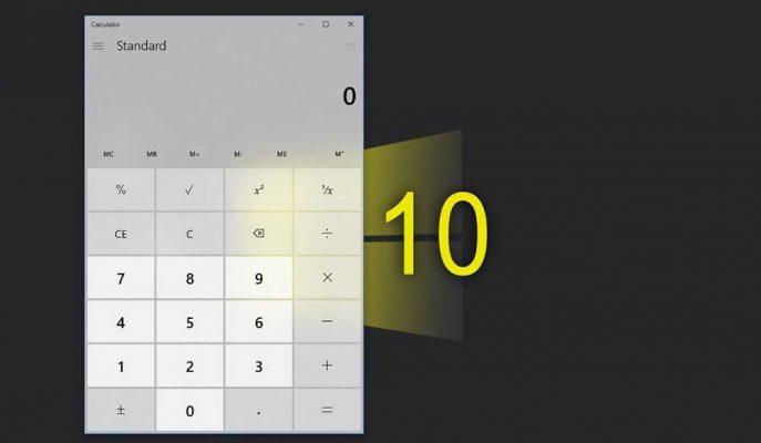 Windows 10'un Hesap Makinesi için Kullanım Kolaylığı Sağlayan Yeni Özellikler Yolda