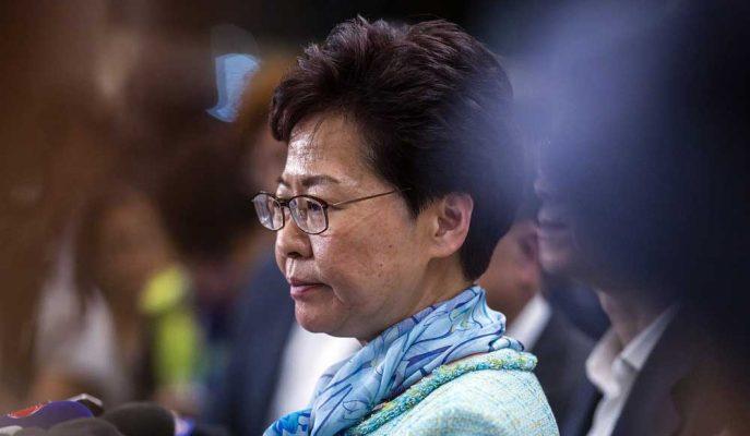 "Hong Kong Lideri Carrie Lam: ""İade Tasarısı Öldü"""