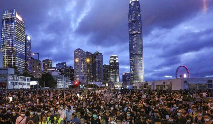 Hong Kong Protestoları Henüz Singapur'a Büyük Bir Para Hareketine Yol Açmadı