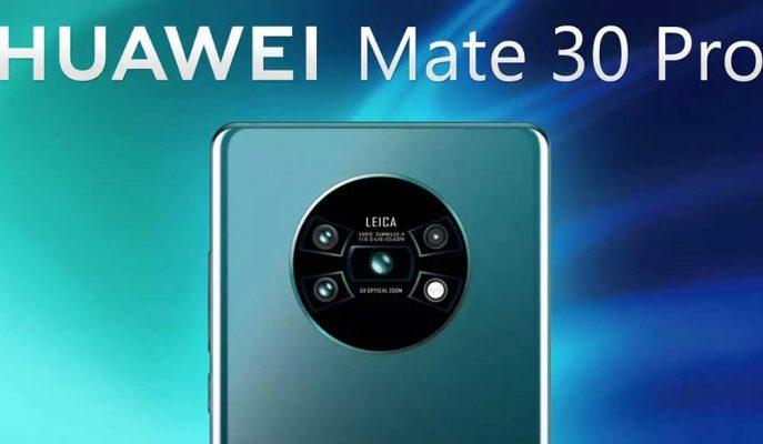 Huawei'nin Sıradaki Amiral Gemisi Mate 30 Pro Kamera ve Ekranı ile Rakiplerinden Ayrılacak