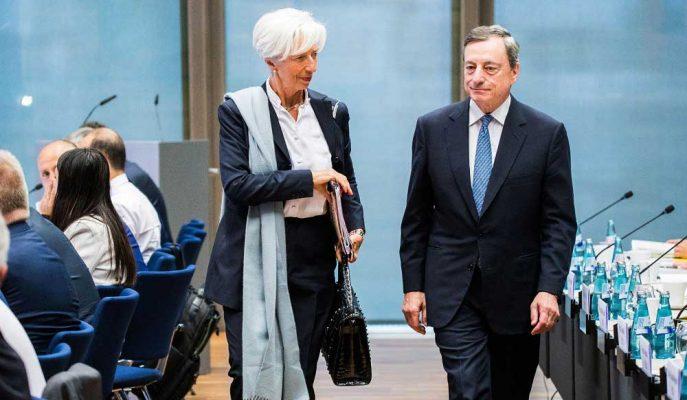 IMF Başkanı Christine Lagarde, ECB Başkanı Mario Draghi'nin Yerine Geçecek