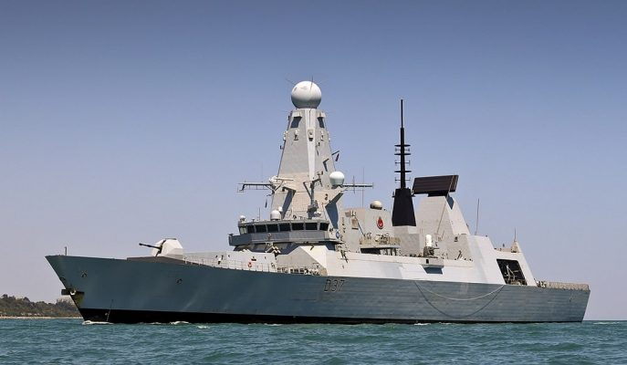 İran ile Gerilimi Süren İngiltere'nin Yeni Savaş Gemisi HMS Duncan Körfezde!