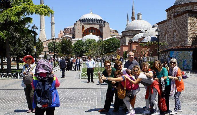 İstanbul'a Yılın İlk 5 Ayında Gelen Turist Sayısında Son 5 Yılın Rekoru Kırıldı