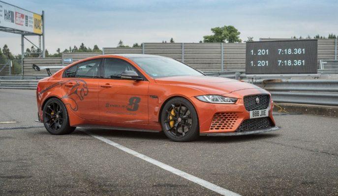 Jaguar XE SV Project 8 Kendi Nürburgring Pist Rekorunu Kırdı