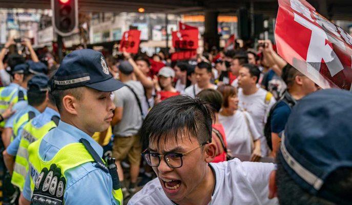 Çin İngiltere'yi Hong Kong'a Müdahale Etmekle Suçlarken Hunt Tartışmayı Alevlendirdi