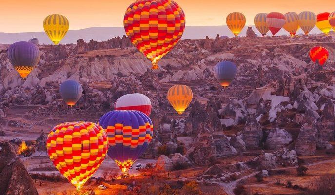 Kapadokya'nın Uçan Balonlarına Yoğun İlgi: 6 Ayda 43 Milyon Euro Gelir