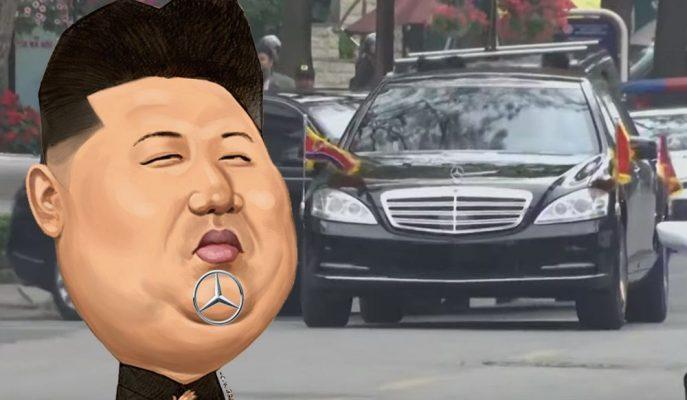Soruşturma Sonrası K.Kore Liderinin Zırhlı Mercedes'leri Ülkeye Nasıl Soktuğu Bulundu!
