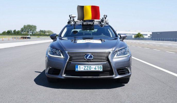 Lexus Başarısını ABD ve Japonya'da Kanıtladıktan Sonra Otonom Testlerini Belçika'ya Taşıyor!