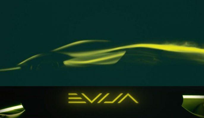 """Lotus Yaklaşan Elektrikli Hiper Aracının İsmini """"Evija"""" Olarak Belirledi"""