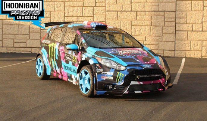 Ken Block Gibi Hissetmek İsteyenlere Satılık 330 Ps'lik Fiesta R5 Ralli Aracı!