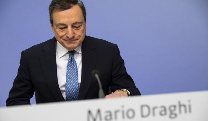 AMB Başkanı Mario Draghi Basın Toplantısında Parasal Teşviklerin Önemine Dikkat Çekti