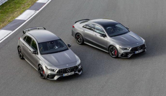 "Kompakt Gövdedeki En Hızlı İkili: ""2020 Mercedes-AMG A 45 ve CLA 45"""