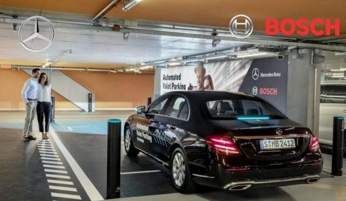 Mercedes ve Bosch Dünyada İlk Seviye 4 Otonom Park Etmeyi Sundu!