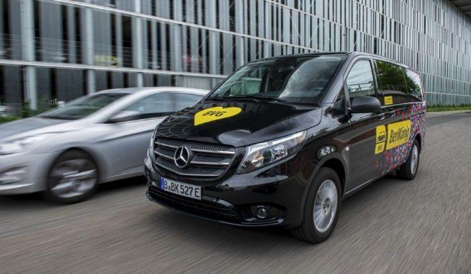 Mercedes eVito Tourer'in Kapsamlı Testlerine Başladı!