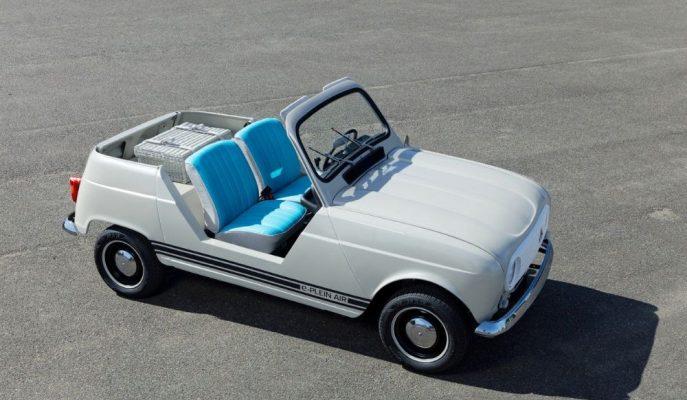 Renault, 4L'sinin Anısına Retro e-Plein'i Gösterdi!