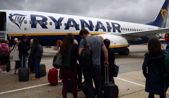 Ryanair Ortalama Bilet Ücretlerinin Kilit Yaz Sezonunda %6 Düşmesini Bekliyor