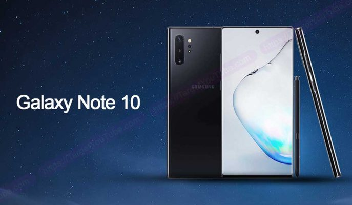 Samsung, Galaxy Note 10'un Bir Önceki Modele Göre Ekran Çözünürlüğünü Düşürüyor