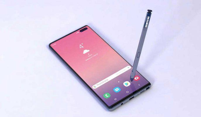 Samsung'un Beklenen Telefonu Galaxy Note 10 Plus Ekran Oranı ile Çok Konuşulacak