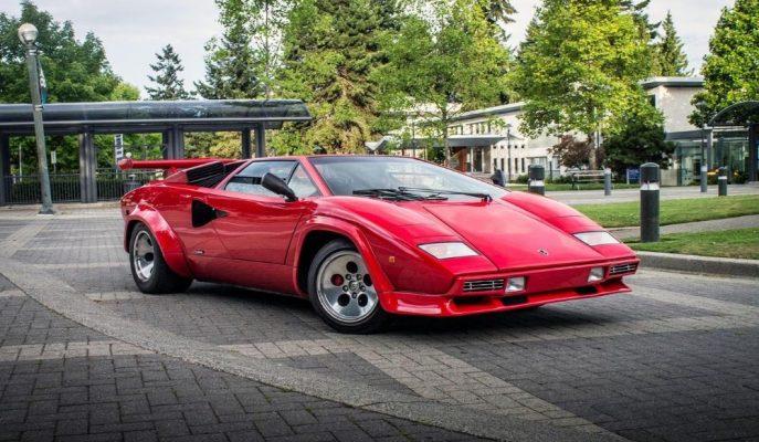 Amerikalı Eski F1 Pilotu Mario Andretti Lamborghini Countach'ı İle Yollarını Ayırdı!