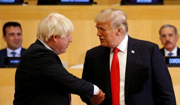 Trump ile Boris Johnson Brexit ve İran Gerginliği Konularını Telefonda Görüştü