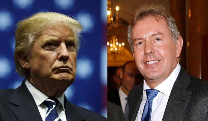 Trump ve Yönetimine Yönelik Eleştirileri Basına Sızan İngiliz Büyükelçi İstifa Etti