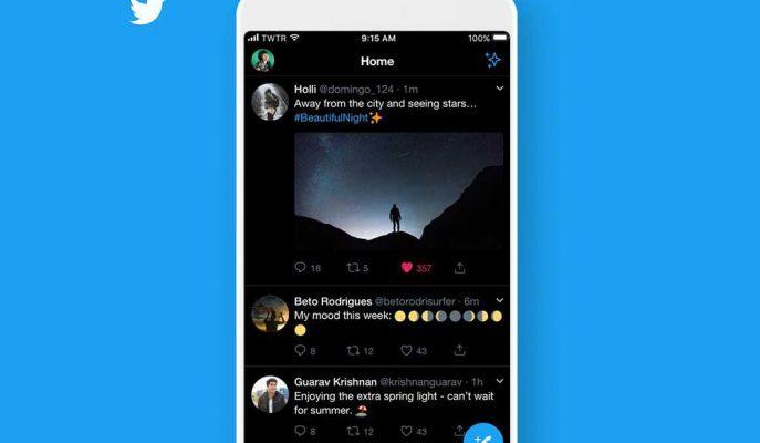 Twitter Daha önce iOS için Sunduğu Siyah Mod Özelliğini Android için Hazırlıyor