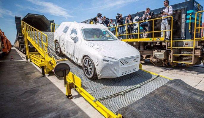 Volvo XC60'lar Ticaret Savaşı Nedeniyle Avrupa'ya Çin'den Gönderiliyor!