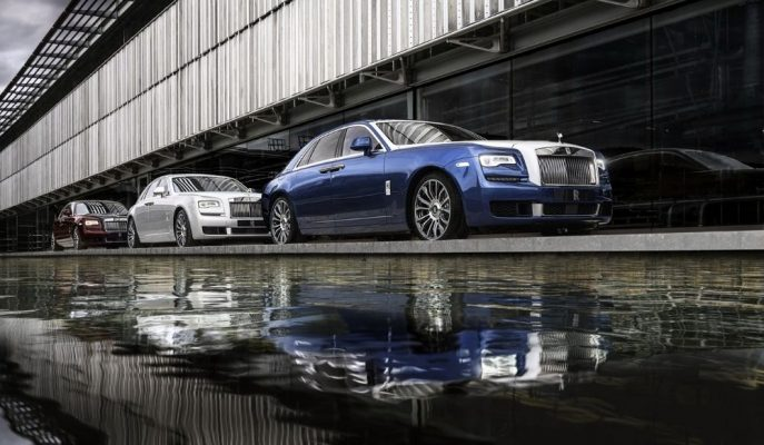 Rolls Royce Ghost'un Veda Serisi Olan Zenith'ten 50 Adet Üretecek!
