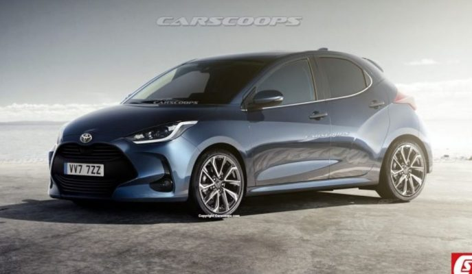 TNGA Platformundan Çıkacak Yeni Toyota Yaris'in İlk Tasarım Detayı!